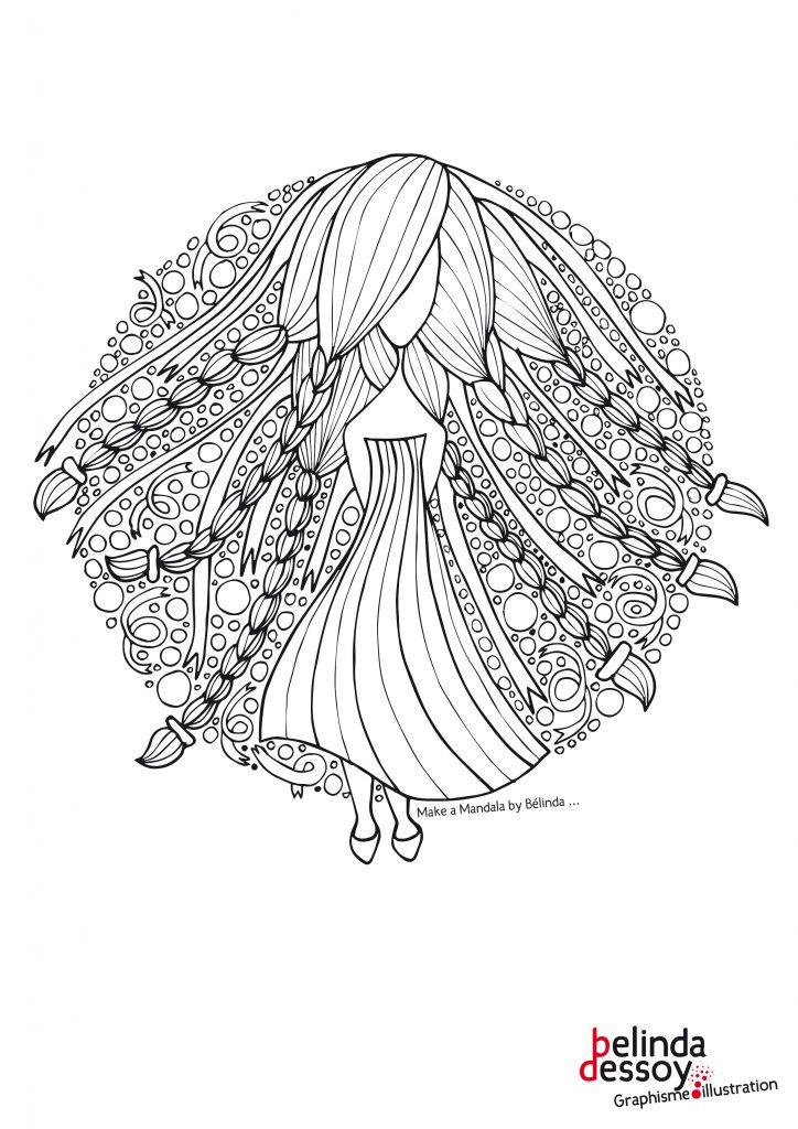 Mandala Fille