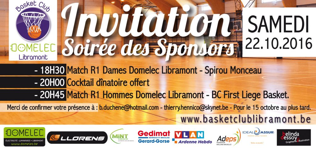 Invitation 22 octobre